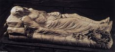 Dead Christ Lying in the Shroud (2), Marble by Giuseppe Sammartino (1720-1793, Italy)