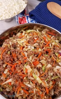 Instant Pot Egg Roll In a Bowl {Low Carb!} - Awe Filled Homemaker