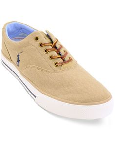 Polo Ralph Lauren Men s Vaughn Canvas Low Top Sneaker Men - All Men s Shoes  - Macy s fdfe91122f