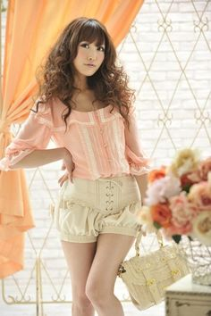 Japanese lingerie-inspired fashion // The Bookworm Blog
