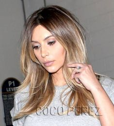 bronde hair • kim kardashian | pinterest hair and beauty ideas