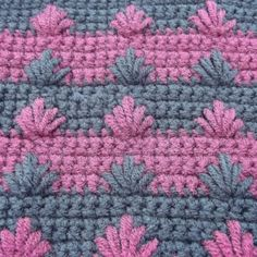 A crochet tutorial showing how to crochet the puffy spike stitch. The puffy spike stitch is great for adding decor to both sides of your crochet work.