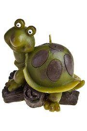 """Свеча """"Удивленная черепаха"""""""