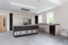12 Best Handleless Veneer And Glass Kitchen Nolte Completed