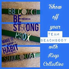 Team Beachbody....what a fun way to represent! http://keep-collective.com/with/courtneynichols