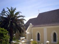 St. Frances Church Simonstown Old Churches, St Francis, Cape Town, South Africa, Saints, France, Mansions, House Styles, City