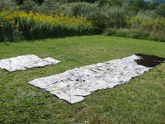 Lasagna Gardening -- Start a new garden anywhere on your lawn using this method.  You start in the fall if you are going to plant the following Spring.  The lasagna layers turn the grass into compost so it is gone when you are ready to plant.  I've done it several times and it makes great soil!