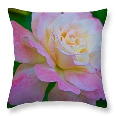 """Amour Throw Pillow 14"""" x 14"""" by Anna Porter"""