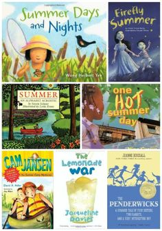 Perfect books that celebrate the joys of summer -- great reads for a picnic or story time in the hammock! #kidslit