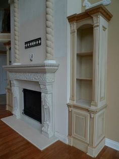 Mantel Surround by Probuilt Woodworking LLC Macomb, Michigan
