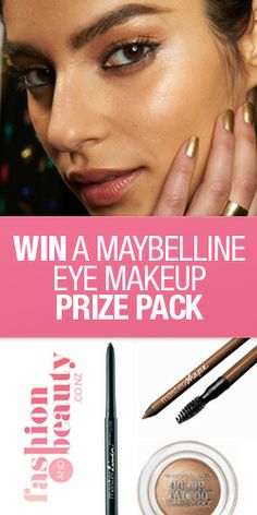 Win a #Maybelline Eye #Makeup #Prize Pack #competition