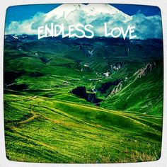 Can you find where the text Endless Love is written? Oh you betcha! It's way too easy!