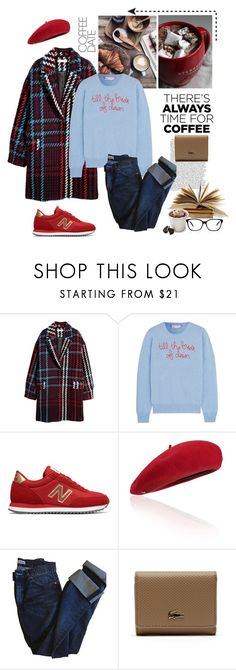 """""""02.02.2018"""" by desdeportugal ❤ liked on Polyvore featuring Lingua Franca, New Balance, Fivestory, Acne Studios, Tassimo, Lacoste and Gucci"""