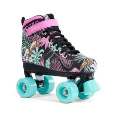 Semi soft upper provides comfort and support. Recommended for: Kids with narrow feet Indoor and outdoor skating Beginner skaters Not usually recomme . Roller Skate Wheels, Kids Roller Skates, Quad Skates, Roller Derby, Roller Skating, Kids Skates, Roller Quad, Outdoor Skating, Snowboard Girl