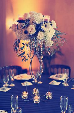 Tall Wedding Centerpieces: Remarkably High