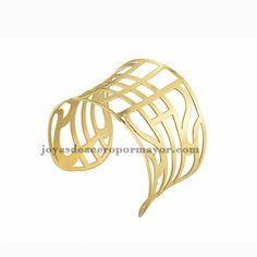 pulsera moda especial en acero dorado inoxdable para mujer -SSBTG213277