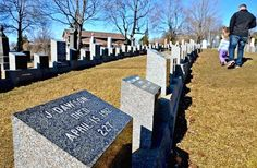 Halifax, Canada, the final resting place of many of the Titanic victims...