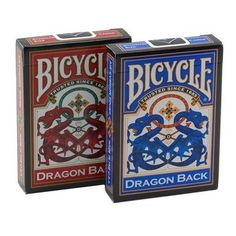 Bicycle Dragon Back Playing Cards - 6 Decks