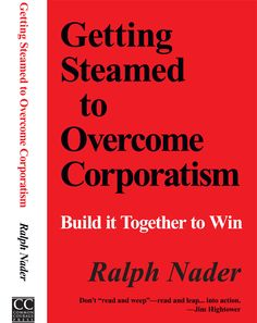 How we as private individuals can fight against the money and influence of corporations.