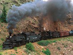 Ferrocarriles Trenes Antiguos .. cumbres and toltec steam train colorado