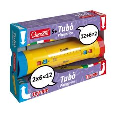 With Tubò it's really easy and fun to learn the multiplication table! Just turn the two colored knobs and results will appear in the window along the tube. Ecommerce Solutions, Toy Chest, Windows, Learning, Storage, Board Games, Mesas, Home, Multiplication Tables