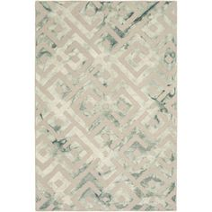 Hand-Hooked Rugeley Crosshatched Wool Rug (9' x 13') | Overstock.com Shopping…