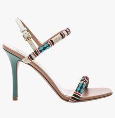 Valentino Glam Tribe slingback heels.