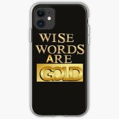 Life Is A Gift, Flower Power, Cover, Wise Words, Iphone 11, Gold, Samsung Galaxy, Phone Cases, App