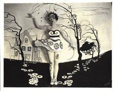 Alberta Vaughn's surreal portrait,1924