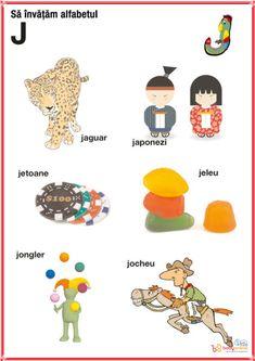 fise imagini reprezentative ale literelor din alfabet | Cu Alex la gradinita Romans, Jaguar, Homeschool, Education, Learning, Logos, Crafts, Art, Full Bed Loft