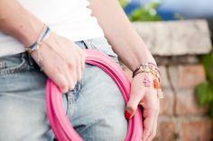 Coloured and funny bracelets designed by #birikini #fashion #madeinitaly - www.ibirikini.com