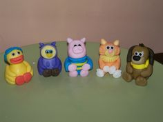 Timmy Time customers seem to love the timmy time toppers I make I think they are rather cute Timmy Time, 3d Figures, Fondant Decorations, Little Kitty, Birthday Parties, Birthday Ideas, Birthday Cake Toppers, Beautiful Cakes, How To Make Cake