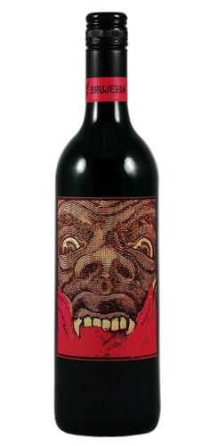 Brujeria Red 2008 from the Misfit Wine Company, South Eastern Australia. Love this design!!!