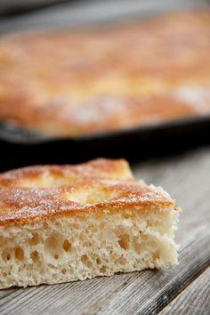 Luftig, gut: Butterkuchen/Zuckerkuchen