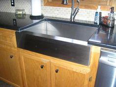 KOHLER Vault Undermount Stainless Steel 30 in. Single Bowl Kitchen Sink K-3936-NA at The Home Depot - Mobile