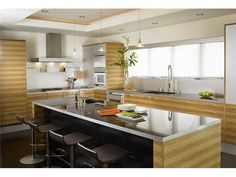 Coronado Home - contemporary - kitchen - san diego - bill bocken architecture & interior house design Interior Design Courses, Office Interior Design, Interior Decorating, Interior Ideas, Decorating Ideas, San Diego, Interior Door Knobs, Grand Kitchen, Kitchen Island With Seating