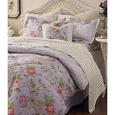 Laura+ashley+bedding | Amazon.com: Laura Ashley Comforter Set Darlington  KING