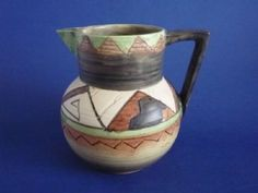 Shorter and Son 'Khimara' Art Deco Jug by Mabel Leigh c1935