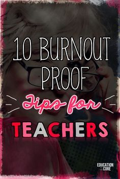 Teacher burnout is real. I know that I've experienced it several times and I'm guessing that you have too. None of us are immune to teacher burnout – it doesn't matter if this is your first or fifteenth year in the classroom – we're all susceptible.