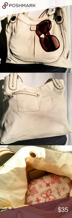 NWOT RELIC Leather Bag NWOT Winter White Leather Shoulder Bag by Relic. From a smoke free home. Make an offer! Relic Bags Shoulder Bags