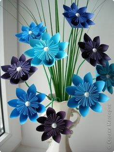 Artifact, the product Origami Flowers Paper Paper - another way to use these flowers