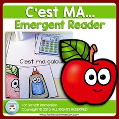 Mots usuels - FRENCH Immersion Emergent Reader - It's MY... - C'est MA... Pour les lecteurs débutants Help your students ease their way into reading French through the use of emergent readers. *************************************************************************** Read In French, French Class, French Immersion, Fun Illustration, Emergent Readers, Student Reading, Teaching French, France, French Language