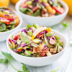 Rainbow Thai Chopped Salad