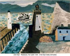 James Russell: John Piper, Newhaven and the Towner Appeal
