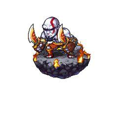 God of War Pixel Artist: pwang Source: pixeljoint.com