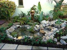 Decoration beautiful luxury small indoor koi pond design for Koi pool and sauna