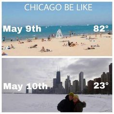 Chicago weather for everyone...