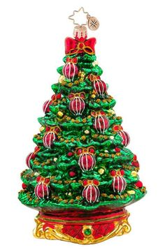Christopher Radko 'Noble Fir' Tree Ornament