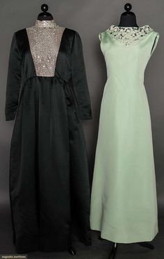 Two  Evening Gowns, 1960-1970s