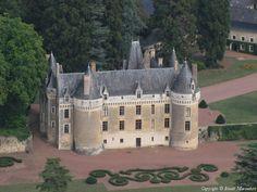 ✈️ Photo aérienne de : Château de Gallerande - Sarthe (72)